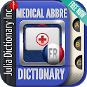 Medical Abbreviations French icon