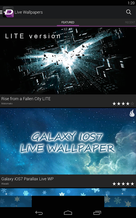 zedge ringtones wallpapers screenshot