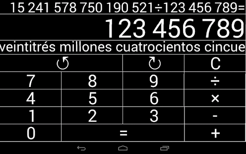 Calculadora Natural (LS)- screenshot thumbnail