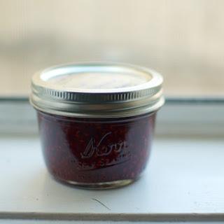 Honey Sweetened Raspberry Preserves