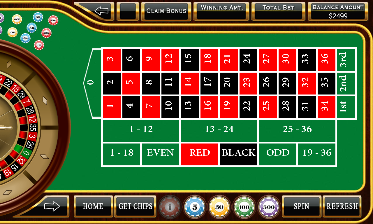 casino game online european roulette play