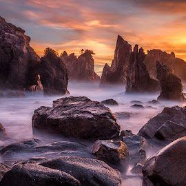 Heaven of Rocks by Gunarto Song  - Nature Up Close Rock & Stone