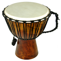 Djembe play icon