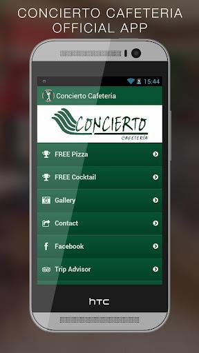 Concierto Cafeteria