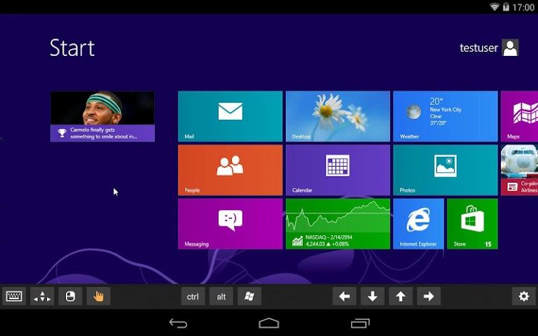 android Remotix VNC RDP Remote Desktop Screenshot 8