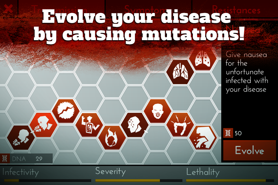 Screenshots of Infection Bio War Free for iPhone