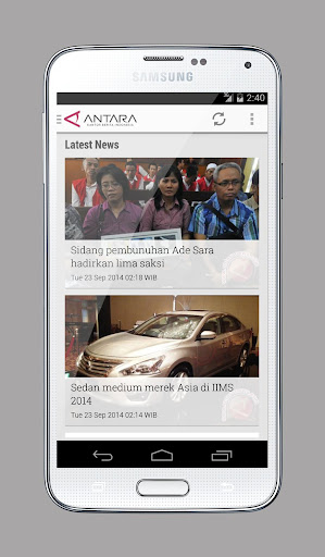 Antara Touch Antaranews