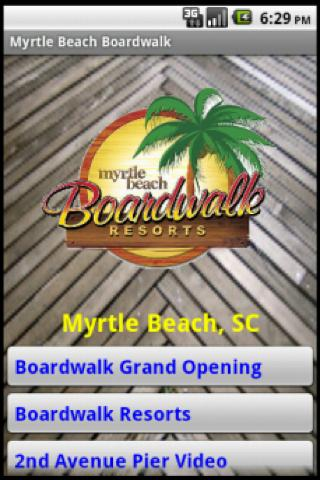 Myrtle Beach Boardwalk- screenshot