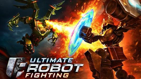 Ultimate Robot Fighting imagem do jogo