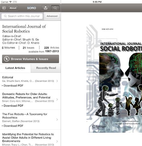 玩書籍App|Social Robotics免費|APP試玩