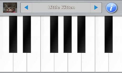 猫と子猫ピアノ