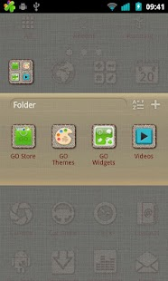 Linen Go Launcher Ex Theme - screenshot thumbnail