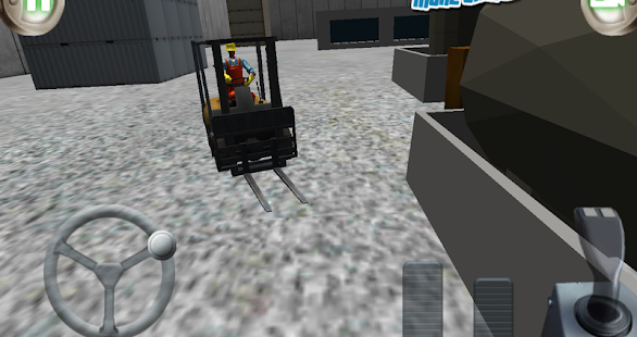 3D forklift parking Madness- screenshot thumbnail