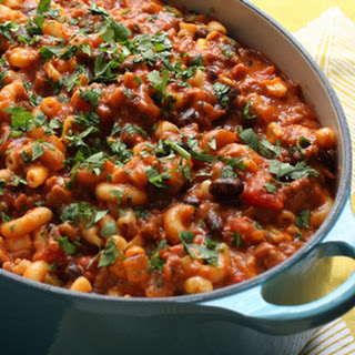 Chili Mac With Black Beans