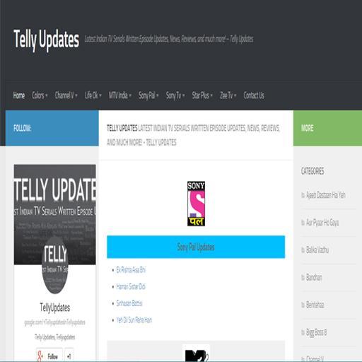 Tellyupdates Android App LOGO-APP點子