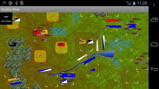 Napoleonics: Quatre Bras- screenshot thumbnail