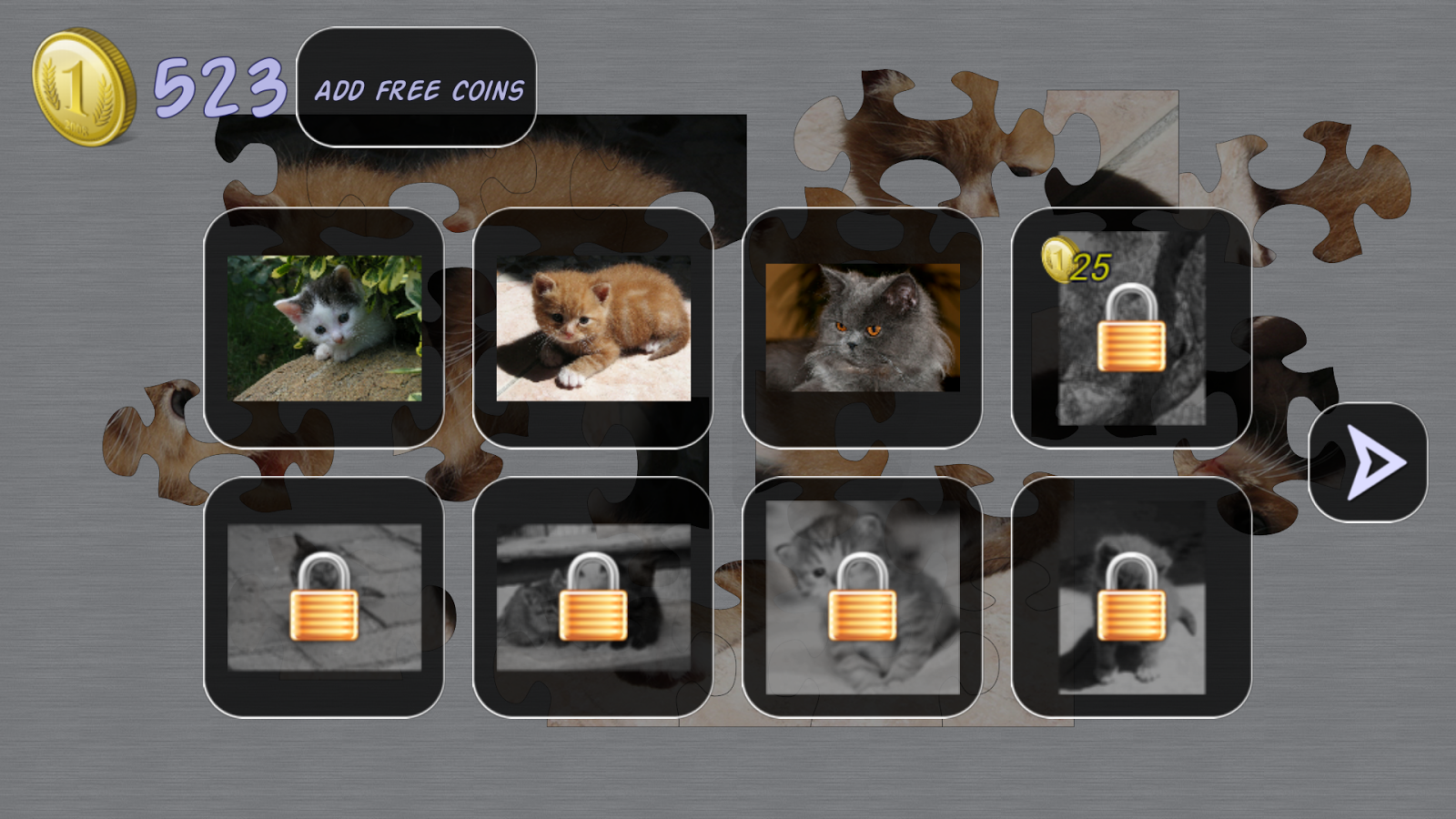Cats Puzzle- screenshot