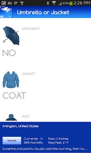 Umbrella or Jacket FREE