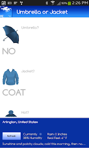 Umbrella or Jacket? FREE screenshot 0