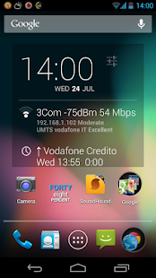 DashClock DashNet extension - screenshot thumbnail