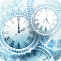 Ice World Time Clock HD icon