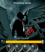 Screenshot of DroidHop Radio Hip Hop SMN