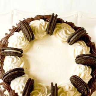 Cookies and Cream Ice Cream Cake.