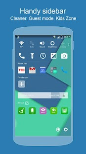 KK Launcher (Lollipop launcher - screenshot thumbnail