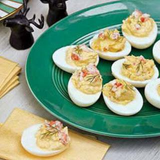 Deviled Eggs with Shrimp Recipe