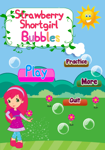 Strawberry girl Bubbles