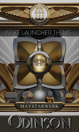 Next Launcher Theme Odinson