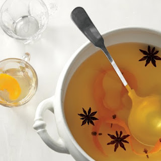 Mulled White Wine.
