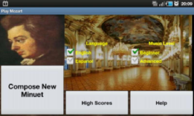Play Mozart - screenshot