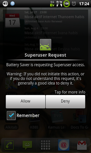 Battery Saver root
