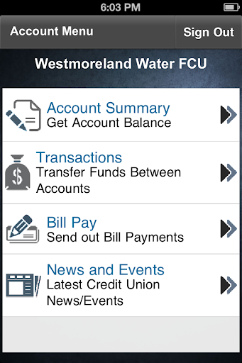 Westmoreland Water FCU