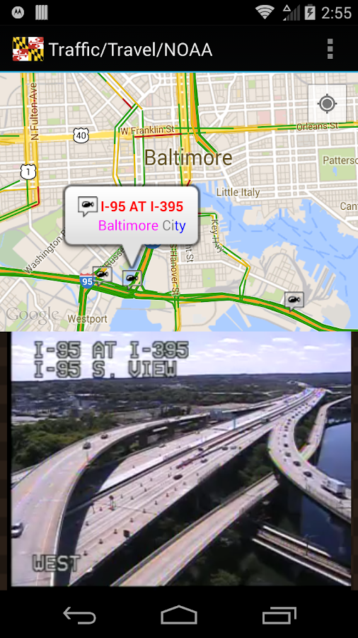 Maryland/Baltimore Traffic Cam - Android Apps on Google Play