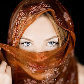 India-Rose 1 by Chris O'Brien - People Portraits of Women (  )