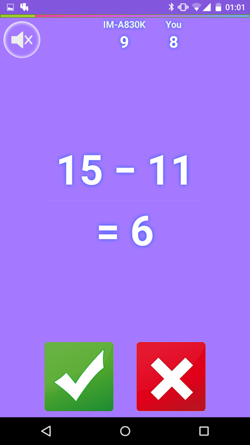 Crazing Math- screenshot