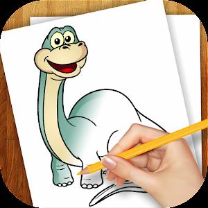 家庭片App|学画画恐龙 LOGO-3C達人阿輝的APP