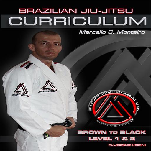 BJJ BROWN-BLACK L1&2 Jiu Jitsu LOGO-APP點子