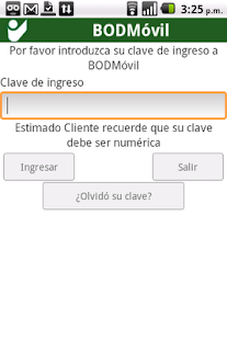BODMovil- screenshot thumbnail