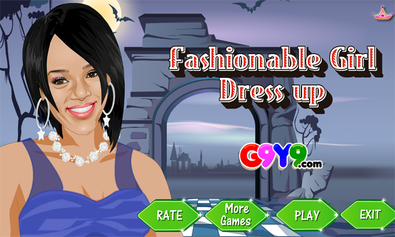 fashion girl dress up- screenshot