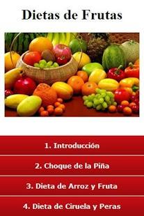 Las dietas, de frutas - screenshot thumbnail