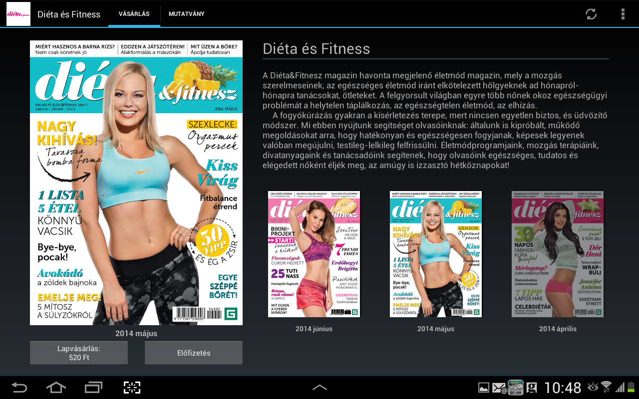 Diéta & Fitness- screenshot
