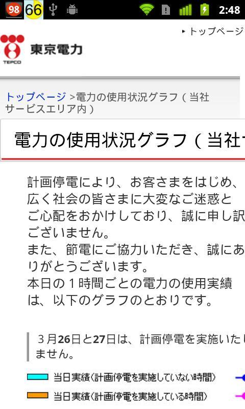 東京電力メーター- screenshot