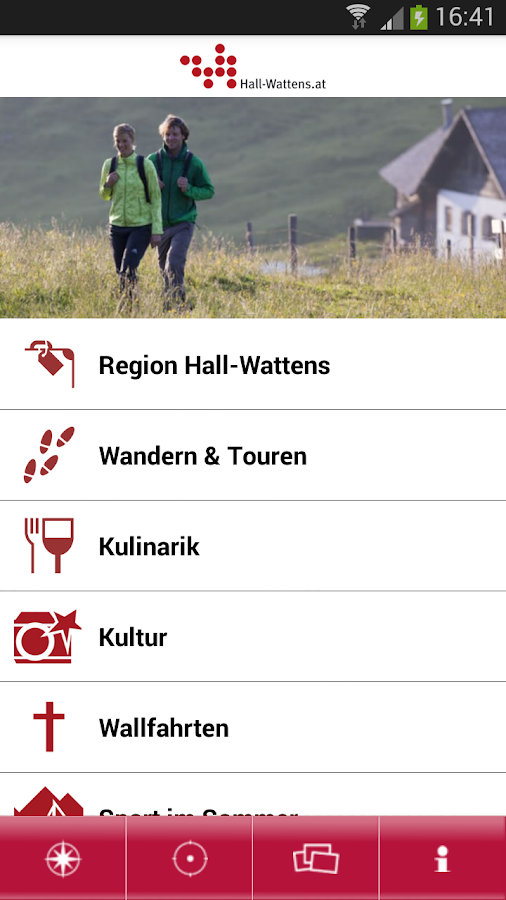 Hall-Wattens Guide – Screenshot