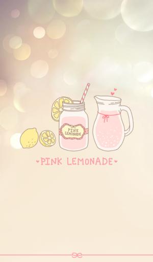 핑크 레몬에이드 카카오톡 테마