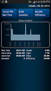 Sleep Analyzer- screenshot thumbnail