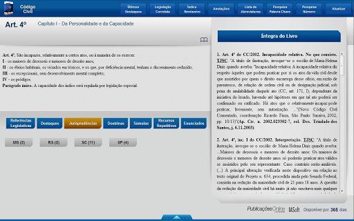 Código Civil 5ª Ed. Tablet