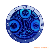 GALLIFREY SEAL CLOCK WIDGET